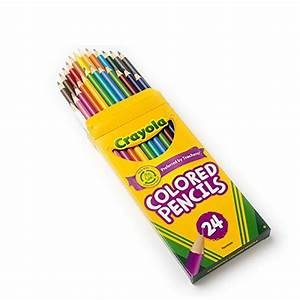 Crayola 24 Ct Colored Pencils, Assorted Colors - Import It All