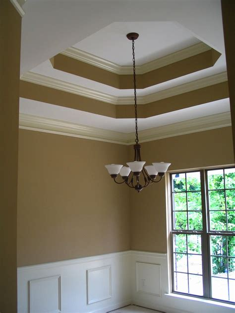 painting tray ceiling ideas pictures double tray ceiling with crown moulding paint pinterest trays moldings and tray ceilings