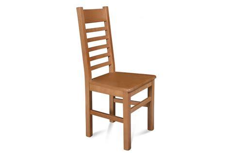 chaise en bois massif chaise bois massif boston assise bois finition chene