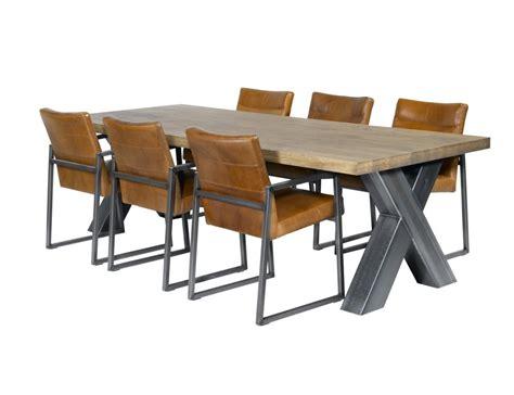 aanbieding eettafel met stoelen op zoek naar een industriele tafel de eiken tafel nl