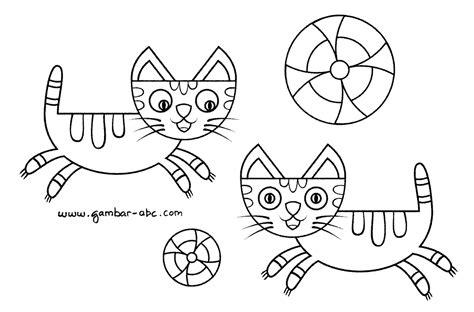 gambar kucing kartun imut