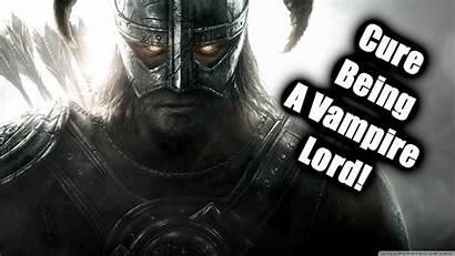 Vampire Skyrim Lord Cure Dawnguard Dlc Being
