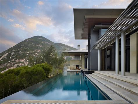 contemporary hong kong villa inspired  traditional chinese architecture idesignarch