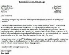 Receptionist Cover Letter Sample Pictures To Pin On Pinterest Sample Cover Letters For Medical Receptionist Job Cover Medical Receptionist Cover Letter Example Cover Letter For Veterinary Receptionist
