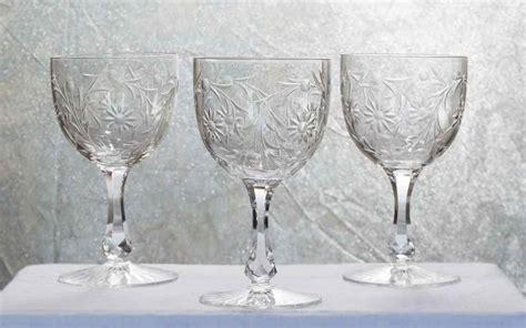verre en cristal verres en cristal baccarat service maintenon