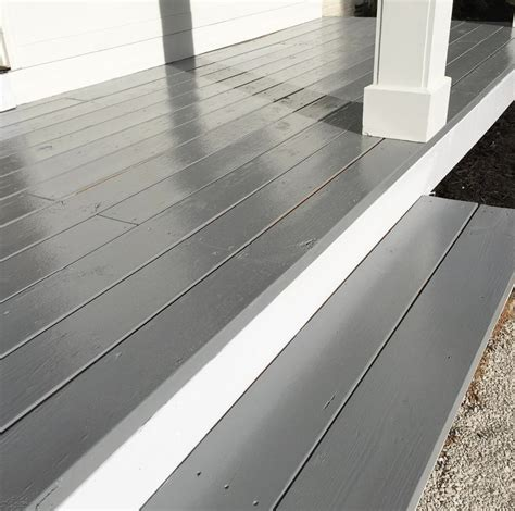 painted front porch beneath  heart