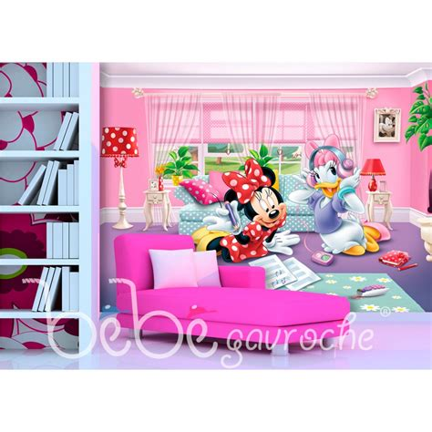 chambre minnie mouse disney minnie wallpaper great kidsbedrooms