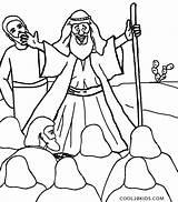 Moses Coloring Pages Printable Commandments Bible Cool2bkids Preschool Preschoolers Plagues Sheets Ten Colouring Sea Printables Sketch Crafts Clipartmag Verse Template sketch template