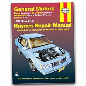 Oldsmobile Cutlass Ciera Haynes Repair Manual