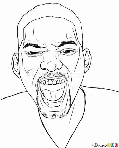 Smith Draw Celebrities Step Portrait Drawing Realistic