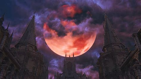 remembering bloodborne    blood moon halloween