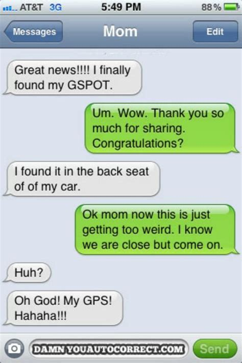 Word Are You Gps by Damn You Auto Correct Founder Picks 12 Funniest Texts