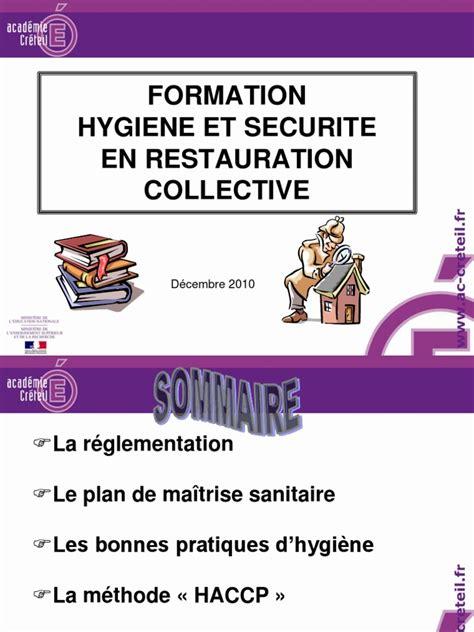 nettoyage cuisine collective diaporama de la formation en hygiene alimentaire 12 2010