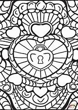 Coloring Abstract Pages Patterns Heart Adults Printable Hearts Colouring Colorama Geeksvgs Drawing Dot Paper Getcolorings Crafts Arts Supercoloring Awesome Categories sketch template