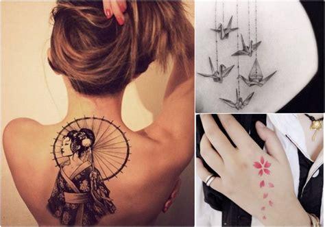 tatuaggi giapponesi  donne  idee  abbellire il