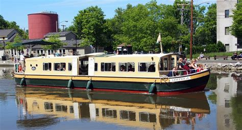 Sam Patch Boat by Explore Rochester Sam Patch Boat Tours