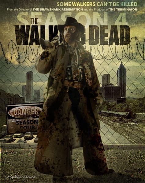 walking dead season 4 featuring the walker by