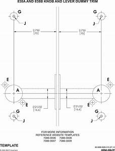 Yale 8800 Series Mortise Lock Installation Instructions 80