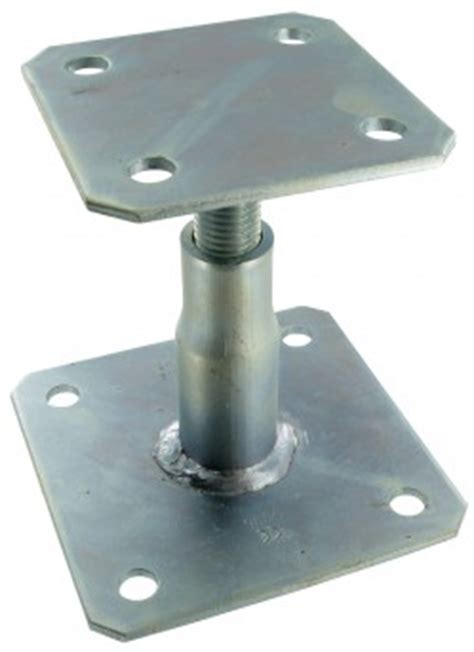 adjustable elevated post base simpson strong tie