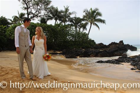 cheap maui wedding packages simple eloping  maui