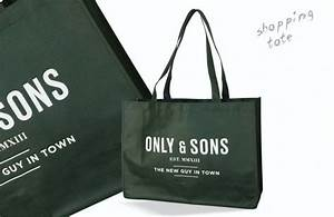 Only Shopping Bag : hip bag only sons uts bags pp non woven tas met logo ~ Watch28wear.com Haus und Dekorationen