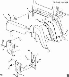 2006 Hummer H3 Parts Diagrams