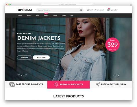divisima  clothing website template  colorlib