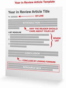 year in review article template With blogger product review template