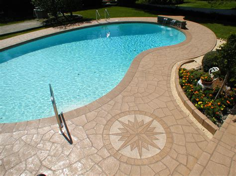Decorative Stamped Concrete Nh Ma Me Contractor
