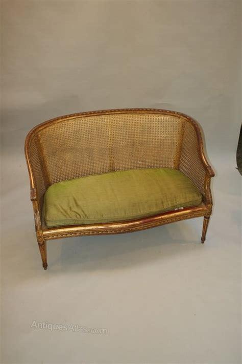 canapé sofa gilt sofa canape antiques atlas