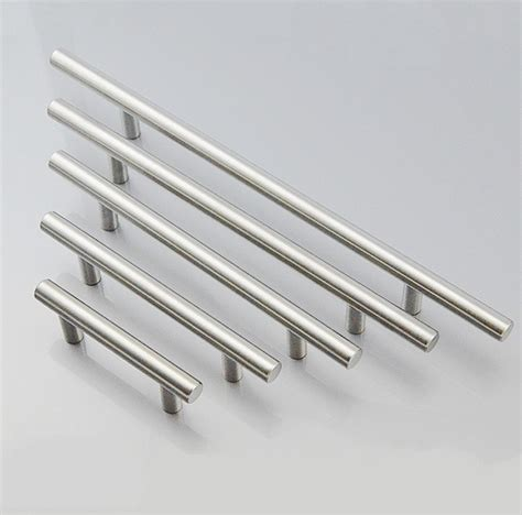 kitchen cabinets handles stainless steel modern t bar stainless steel furniture hardware handles 8057