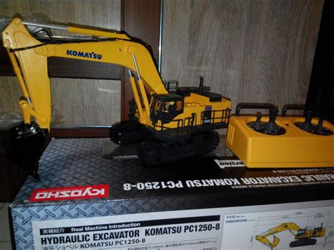 Harga Rc Excavator Di Indonesia jual rc hydraulic excavator komatsu pc 1250 8 kyosho high