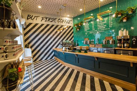 The team at alfred coffee & kitchen hasn't enabled this community feature yet. alfred coffee studio city | Alfred coffee, Coffee shop, Shop interior design