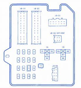 Mazda Cx9 2007 Main Fuse Box  Block Circuit Breaker Diagram