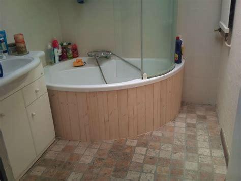 habillage de baignoire d angle et de wc innov d 233 co