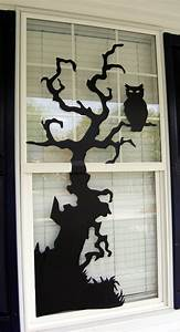 halloween window decorations ideas to spook up your neighbors With halloween window silhouettes template