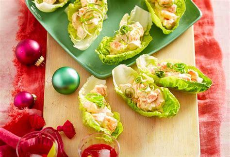 prawn cocktail lettuce cups recipe  idea food
