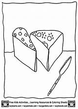 Coloring Pages Cheese Sheets Crackers Printable Printables Painting Template Animal Activities Lucy Learning sketch template