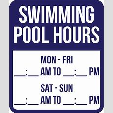 Swimming Pool Sign & Fence Laws  All 50 States Signscom