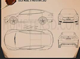 concept car blueprint  models  humd