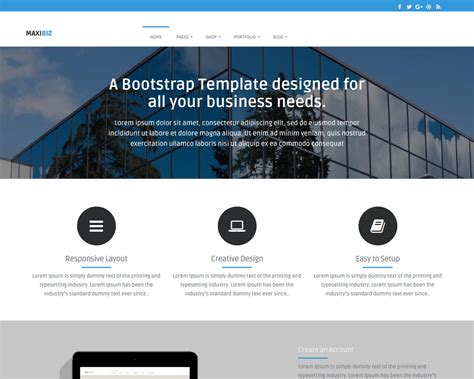 bootstrap templates templatemag