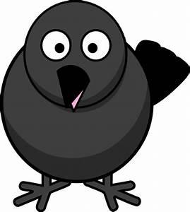 Raven Crow Black Bird Clip Art at Clker.com - vector clip ...