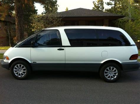 automobile air conditioning repair 1992 toyota previa spare parts catalogs buy used 1992 toyota previa 5 spd awd all trac van perfect interior needs headgasket wk in