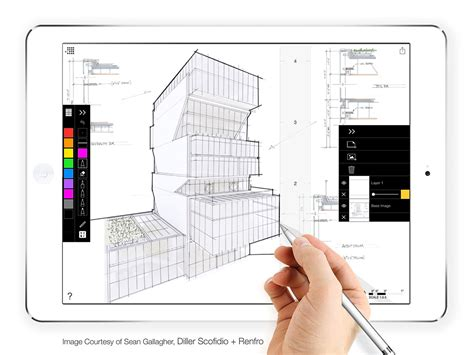 architecture designing app morpholio trace makes layered sketching and tracing a
