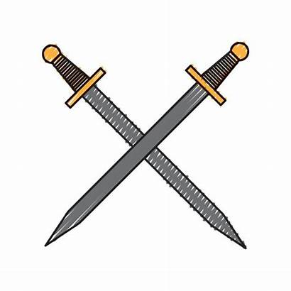 Sword Roman Short Clip Spada Isolata Icona