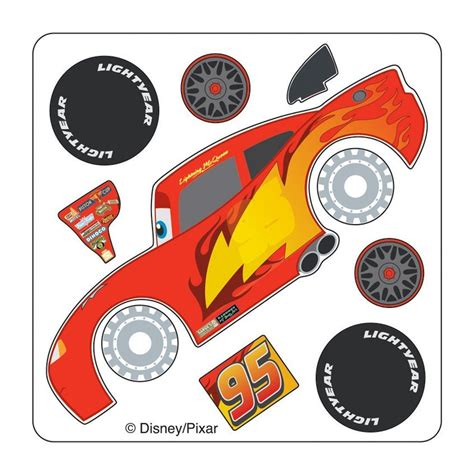 disney cars lightning mcqueen    stickers