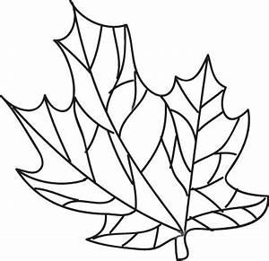Feuilles D Automne à Imprimer : dessin feuille d automne imprimer ~ Nature-et-papiers.com Idées de Décoration