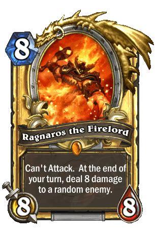 Hearthstone Best Ragnaros Deck by Ragnaros The Firelord Hearthstone Heroes Of Warcraft Wiki