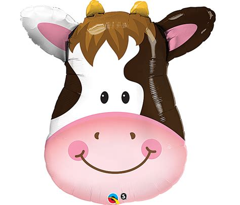 Cowhide Balloons by Cow Mylar Balloon Whimsical Cow Balloon Made In The