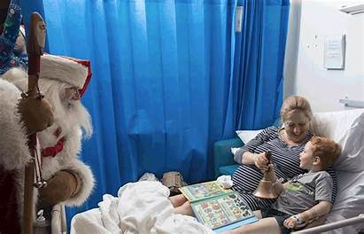Hospital Sick Children Confines Photoshoot Takes Karen
